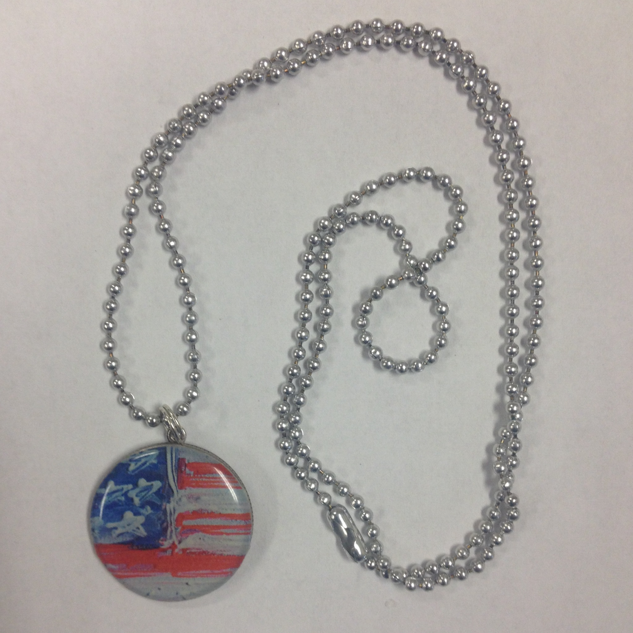 usa men flag pendant silver hzman stainless dog s american and gold steel tag dp necklace tags