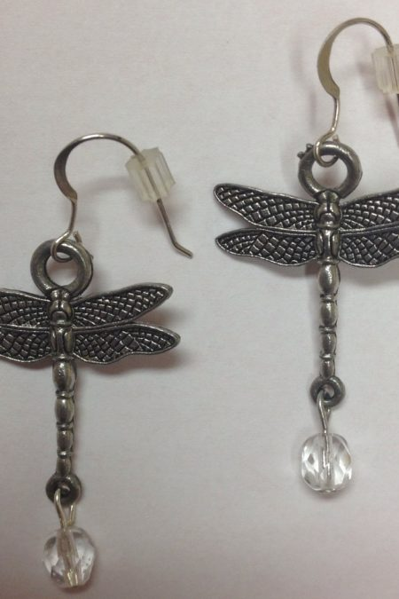 dragonfly earrings - no card