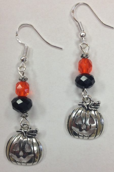 pumpkin-charm-earrings